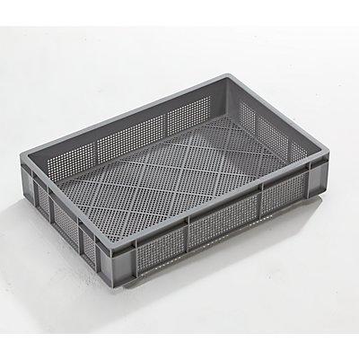 VECTURA Stapelbehälter - Inhalt 23 l, VE 5 Stk, Ausführung durchbrochen