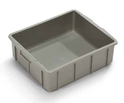 Kunststoff-Stapelbehälter - Inhalt 31 l, Außenmaße LxBxH 550 x 450 x 163 mm