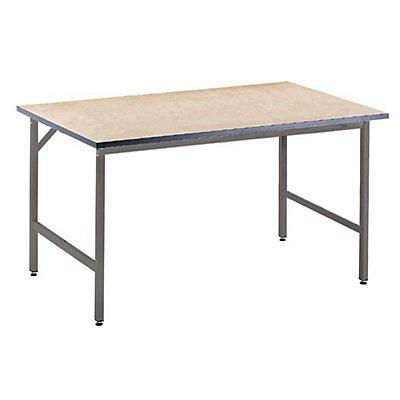 RAU Arbeitstisch, höhenverstellbar - 800 – 850 mm, MDF-Platte