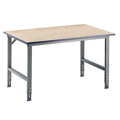 RAU Arbeitstisch, höhenverstellbar - 760 – 1080 mm, MDF-Platte