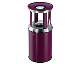 Combiné cendrier-poubelle PROFILINE COMBI PRO - capacité poubelle 30 l