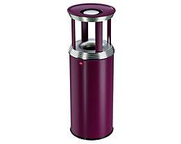 Combiné cendrier-poubelle PROFILINE COMBI PRO - capacité poubelle 50 l