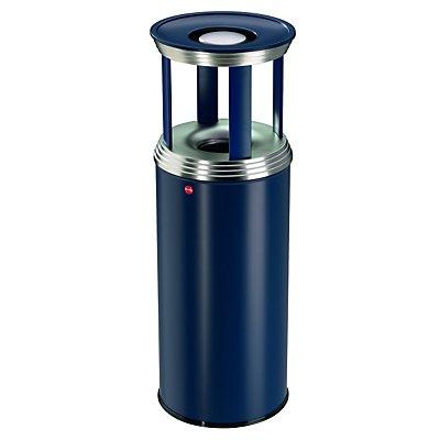 Ascher-Papierkorb-Kombination PROFILINE COMBI PRO - Abfallvolumen 50 l - tiefschwarz
