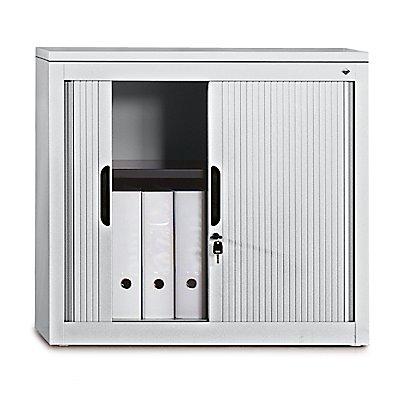 Rollladenschrank, Höhe 720 mm - BxT 800 x 420 mm, 1 Fachboden