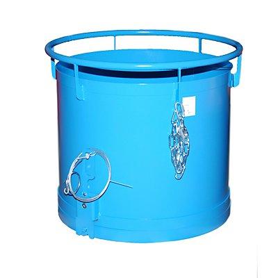 BAUER Rundbehälter, Bodenentleerung - Höhe 775 mm, Volumen 0,30 m³