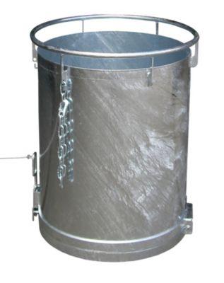 Rundbehälter, Bodenentleerung - Höhe 1085 mm, Volumen 0,45 m³