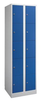 Schließfachschrank in Komfort-Größe - 10 Fächer, Breite 800 mm