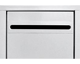 Wolf Einwurfschlitz - für Stahlschrank - für Abteilbreite 400 mm, Mehrpreis
