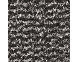 Schmutzfangmatte für innen, Flor aus Polypropylen - LxB 1500 x 900 mm, VE 1 Stk - schwarz / metallic
