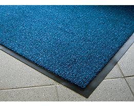 Schmutzfangmatte für innen, Flor aus Polypropylen - LxB 1500 x 900 mm, VE 1 Stk - schwarz / blau