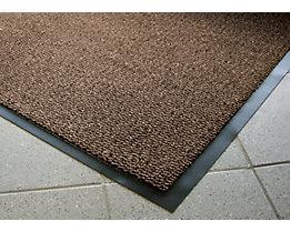 Schmutzfangmatte für innen, Flor aus Polypropylen - LxB 1500 x 900 mm, VE 1 Stk - schwarz / braun