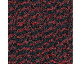 Schmutzfangmatte für innen, Flor aus Polypropylen - LxB 1500 x 900 mm, VE 1 Stk - schwarz / rot