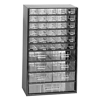 Schubladenmagazin - HxB 551 x 306 mm, 37 Schubladen