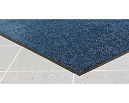Schmutzfangmatte für innen, Flor aus Polyamid - LxB 850 x 600 mm, VE 2 Stk - blau
