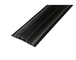Kabelbrücke aus PVC - LxBxH 1500 x 200 x 35 mm - schwarz
