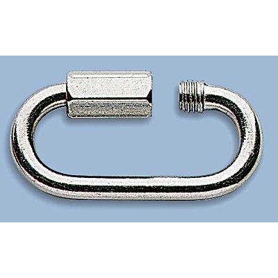 URBANUS Edelstahl-Verbindungsglied - schraubbar - Material-Ø 5 mm, Glieder-Innenweite 39 mm