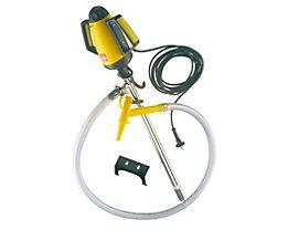 Lutz Behälterpumpen-Set, elektrische Pumpe inkl. Zubehör - Pumpwerk aus Niro (rostfreier Stahl)
