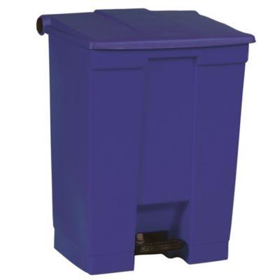 Rubbermaid Kunststoff-Treteimer - Inhalt 70 l - blau