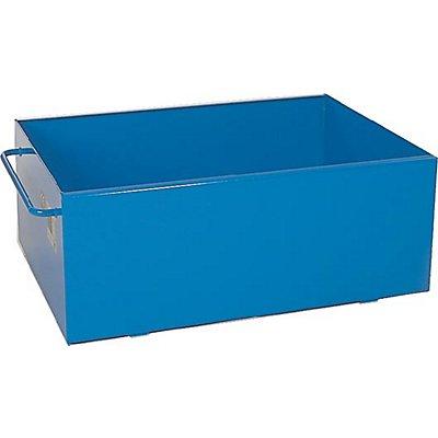IBS Auffangwanne aus Stahl - blau lackiert - Volumen 200 l