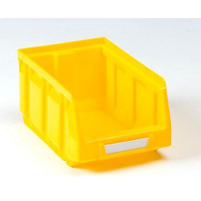 VIPA Sichtlagerkasten aus Polyethylen - LxBxH 167 x 105 x 82 mm - blau, VE 48 Stk