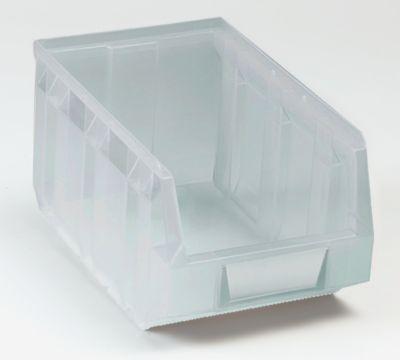 Sichtlagerkasten aus Polypropylen - transparent