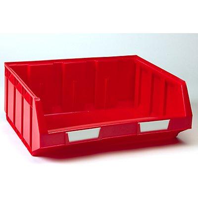 VIPA Sichtlagerkasten aus Polyethylen - LxBxH 345 x 410 x 164 mm