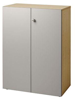 office akktiv Aktenschrank - Flügeltüren, 2 Fachböden