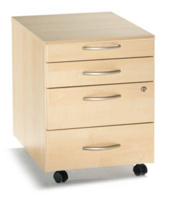 Büro-Set Standard - Ahorn-Dekor oder reinweiß