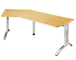 office akktiv ANNY Table d'angle 135° - largeur 2100 mm