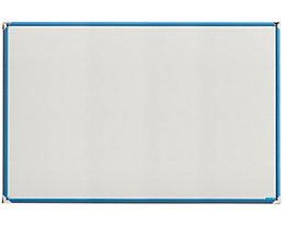 office akktiv Design Magnettafel - BxH 1500 x 1000 mm - Rahmen lichtblau