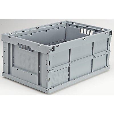utz Faltbox aus Polypropylen - Inhalt 52 l, LxBxH 600 x 400 x 280 mm