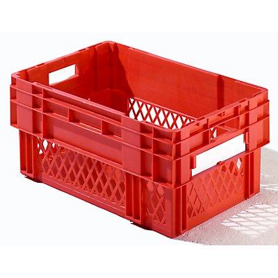 Drehstapelkasten - Inhalt 49 Liter, Wände durchbrochen, Boden geschlossen, VE 4 Stk