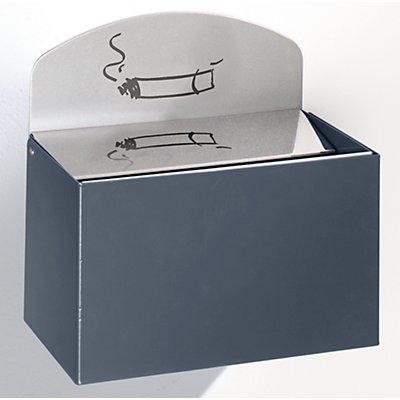 VAR Wandascher mit Hinweisschild - Stahlblech, HxBxT 125 x 200 x 125 mm