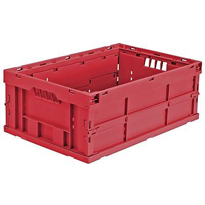 utz Faltbox aus Polypropylen - Inhalt 43 l, LxBxH 600 x 400 x 225 mm