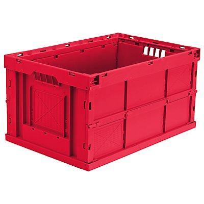 utz Faltbox aus Polypropylen - Inhalt 63 l, LxBxH 600 x 400 x 320 mm