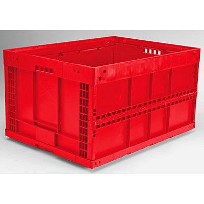 Faltbox aus Polypropylen - Inhalt 168 l, LxBxH 800 x 600 x 445 mm