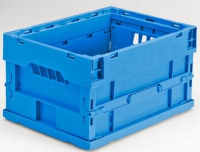 Faltbox aus Polypropylen - Inhalt 20 l, LxBxH 400 x 300 x 225 mm