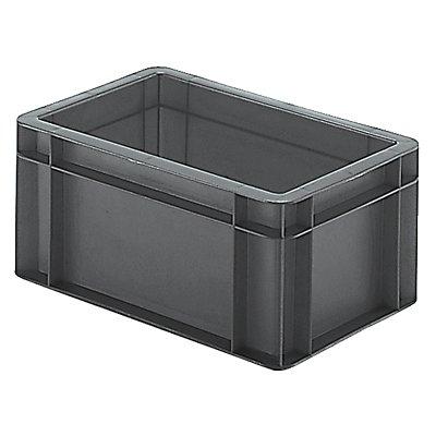 Euro-Format-Stapelbehälter, Wände und Boden geschlossen - LxBxH 300 x 200 x 145 mm