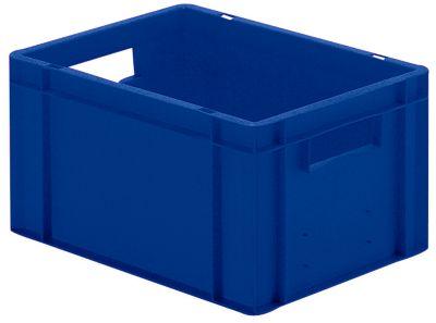 Euro-Format-Stapelbehälter, Wände und Boden geschlossen - LxBxH 400 x 300 x 210 mm