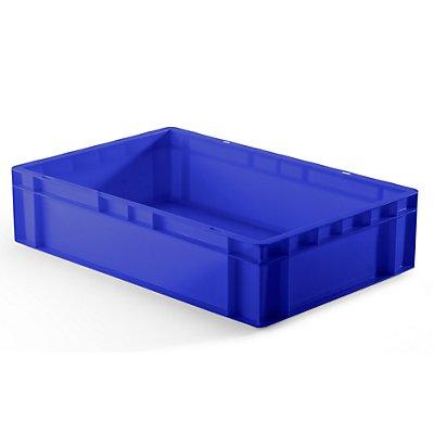 Euro-Format-Stapelbehälter, Wände und Boden geschlossen - LxBxH 600 x 400 x 145 mm