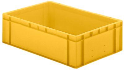 Euro-Format-Stapelbehälter, Wände und Boden geschlossen - LxBxH 600 x 400 x 175 mm