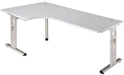 FINO Freiformtisch, höhenverstellbar - 680 – 760 mm, BxT 2000 x 1200 mm