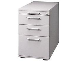 Standcontainer, höhenverstellbar - 1 Utensilienschub, 2 Schubladen, 1 Hängeregistratur