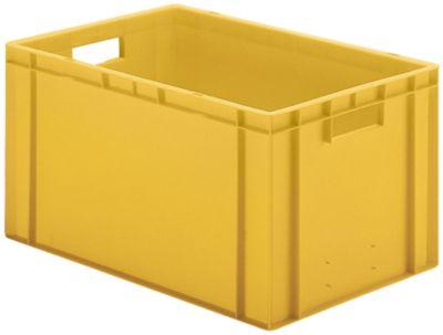 Euro-Format-Stapelbehälter, Wände und Boden geschlossen - LxBxH 600 x 400 x 320 mm
