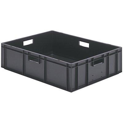 Euro-Format-Stapelbehälter, Wände und Boden geschlossen - LxBxH 800 x 600 x 210 mm