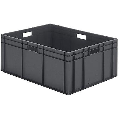 Euro-Format-Stapelbehälter, Wände und Boden geschlossen - LxBxH 800 x 600 x 320 mm
