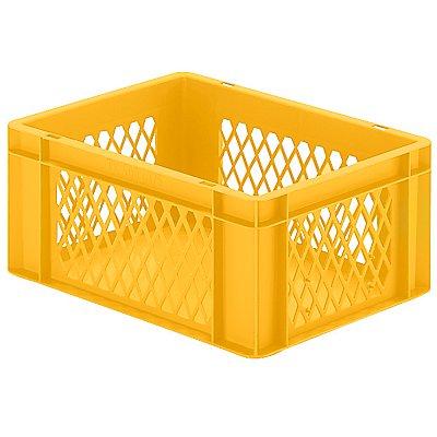 Euro-Format-Stapelbehälter, Wände durchbrochen, Boden geschlossen - LxBxH 400 x 300 x 175 mm