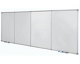 Endlos Whiteboard-System - Stahlblech beschichtet - Grundmodul