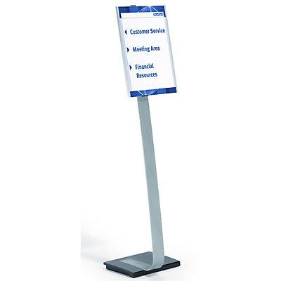 Durable Bodenaufsteller mit Infotafel - aus Aluminium