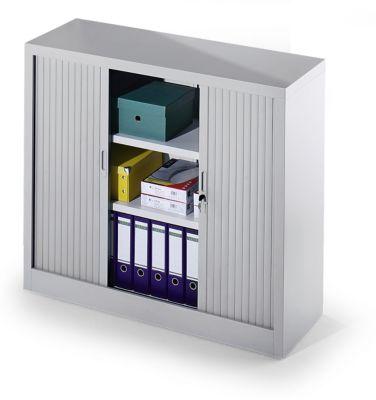 Armoire à rideaux, démontable - h x l x p 1070 x 1200 x 450 mm - 2 tablettes... par LeGuide.com Publicité
